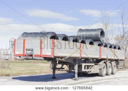Steel Wire Rolls.