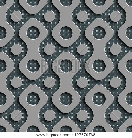 Seamless Grid Background. Vector Regular Texture