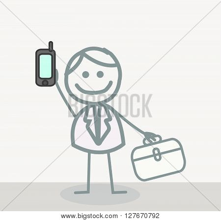 Call Doctor .eps10 editable vector illustration design
