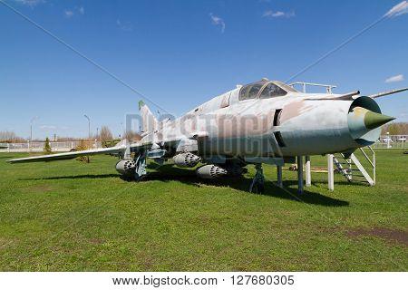 Old Soviet Military Plane.