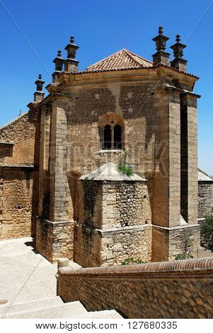 Rear view of Santa Maria church Antequera Malaga Province Andalucia Spain Western Europe.