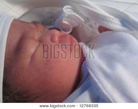 Newborn, just one day old