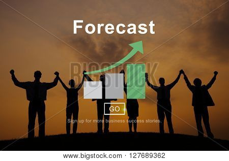 Forecast Prediction Plan Goal Concept