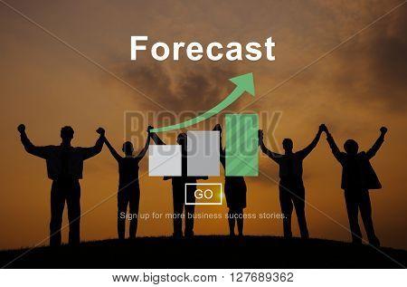 Forecast Prediction Plan Goal Concept