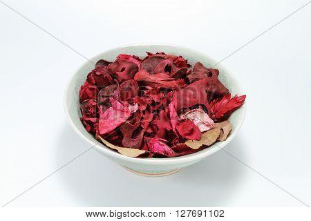 Dry Rose Leaves