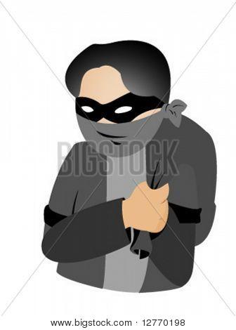 Icono de ladrón - Vector