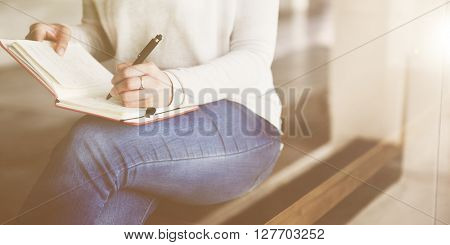 Writing Studying Working Planning Concept