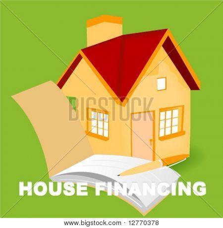 House Financing - Vector