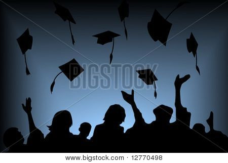 Graduation Background - Vector