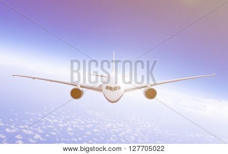 Airplane Air Airplane Aviation Concept