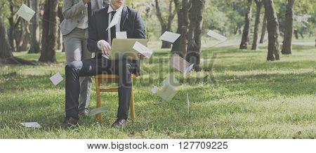 Envelope Message Communication Information Concept