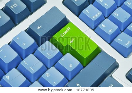 Keyboard with recycle button