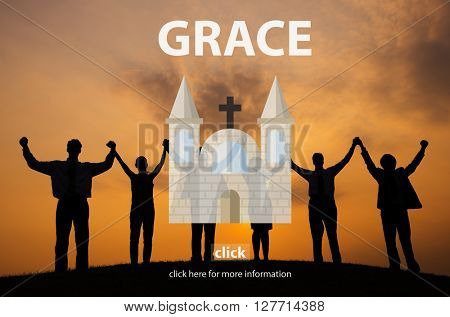 Grace Elegance Faith Religion Spirit Worship Concept