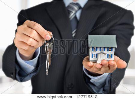 Giving Keys.
