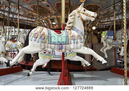 A Classic Carousel Horse
