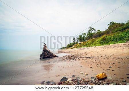 View On Liepaja Coastline, Latvia