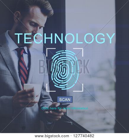 Fingerprint Technology Data Protection Concept