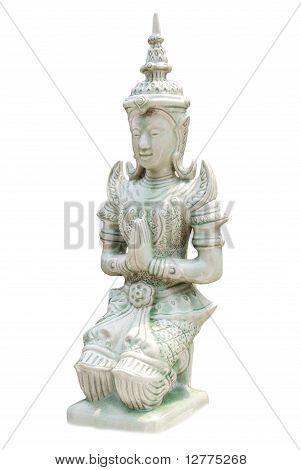 Thai woman statue