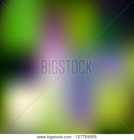 Abstract Creative Concept Vector Multicolored Blurred Background. For Web And Mobile Applications, A