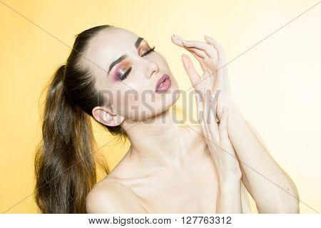 Sensual Sexy Woman