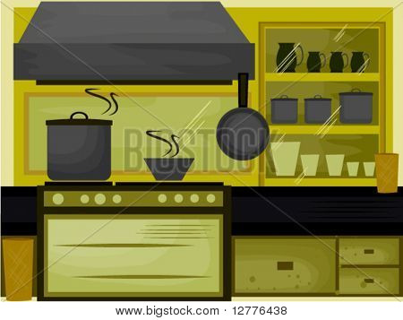 Kitchen - Vector