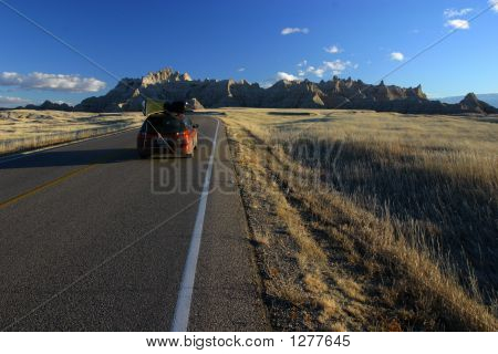 Winter Visit To Badlands National Park South Dakota 1