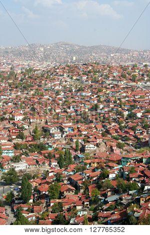 Old Ankara Turkey - architecture travel background
