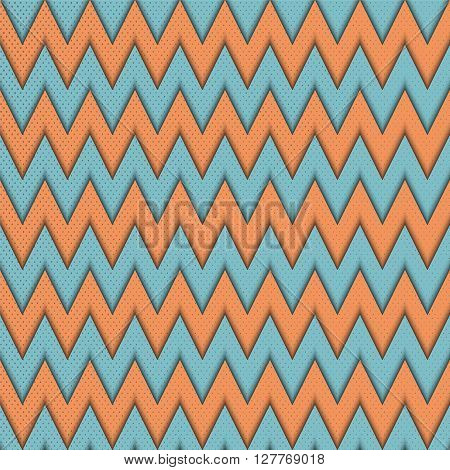 Abstract geometric seamless pattern with  zig zag.