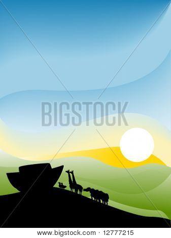 Noah's Ark - Vector
