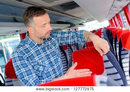 preparing the seats