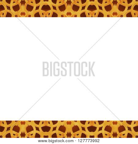 Oriental Arabesque Background Frame