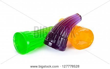 Gelatin Isolated On The White Background