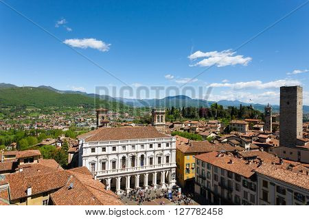 Italian Panorama, Upper City Of