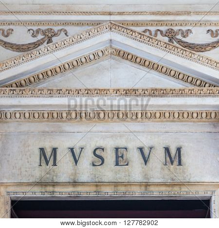 Old Museum Entrance