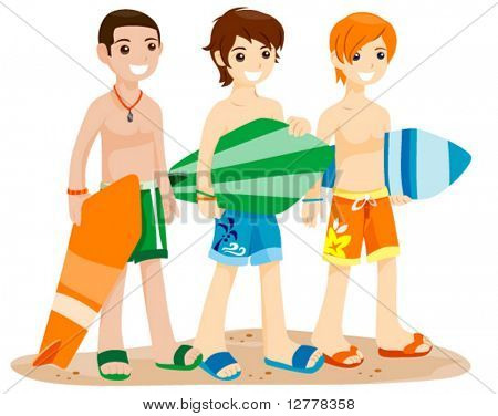 Summer Teens - Vector