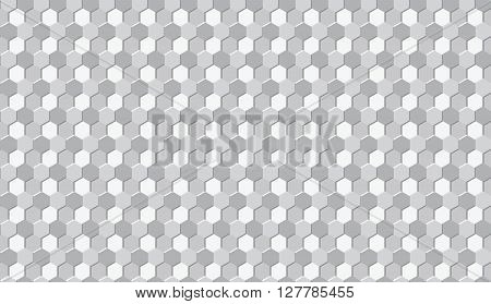 Isometric Seamless Pattern. Geometry Pattern Background. Vector Stock.