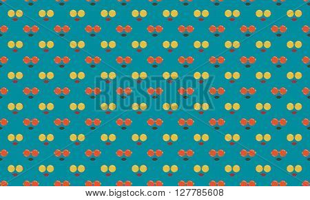 Retro Seamless Pattern Background. Sun Glass Pattern Design. Vector Stock.