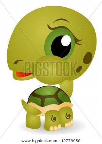 Young Turtle - Vector