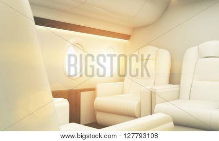 Seats In Airplane Toning