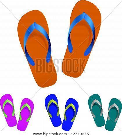 Flip flop set