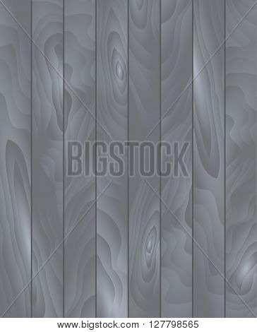 Vector wood texture. Background gray panels. Grunge retro vintage wooden texture, vector background. Vertical stripes.