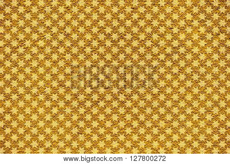 Golden Revetment Wall Putty Macro Texture Background White Stars Styled