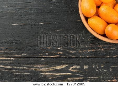 Kumquat Fruit In Bowl