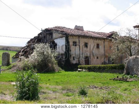 Derelict House Falling Down