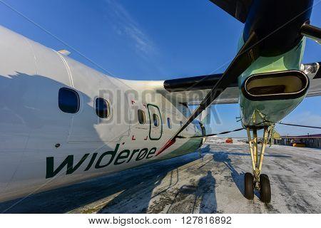 Wideroe Airplane