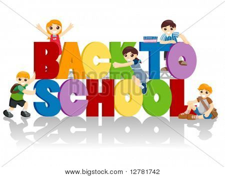 Back to School - Vector