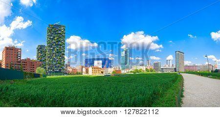 Milan  Vertical Gardens