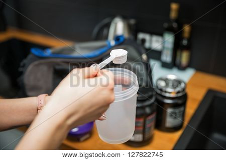 Measuring The White Powder