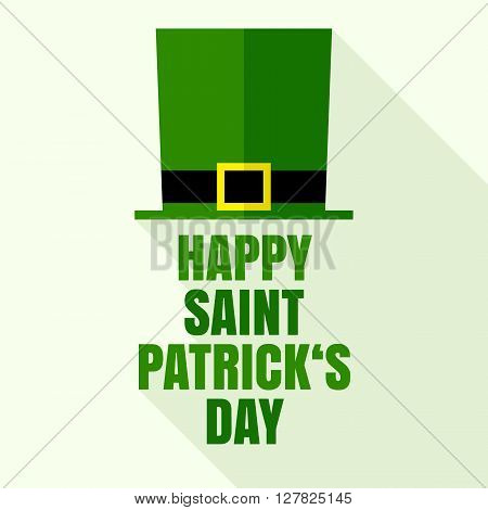 St. Patrick's Day - Leprechaun's hat vector illustration