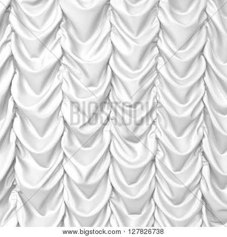 Theater drapes. 3d background for design and art